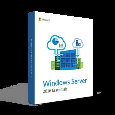 Microsoft Windows Server 2016 Essentials 64 Bit (İndirme)